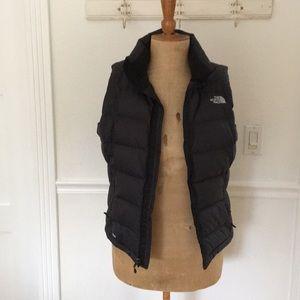 The North Face Black Down Vest, sz M/M
